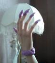фиолетовый хендгам, жвачка для рук