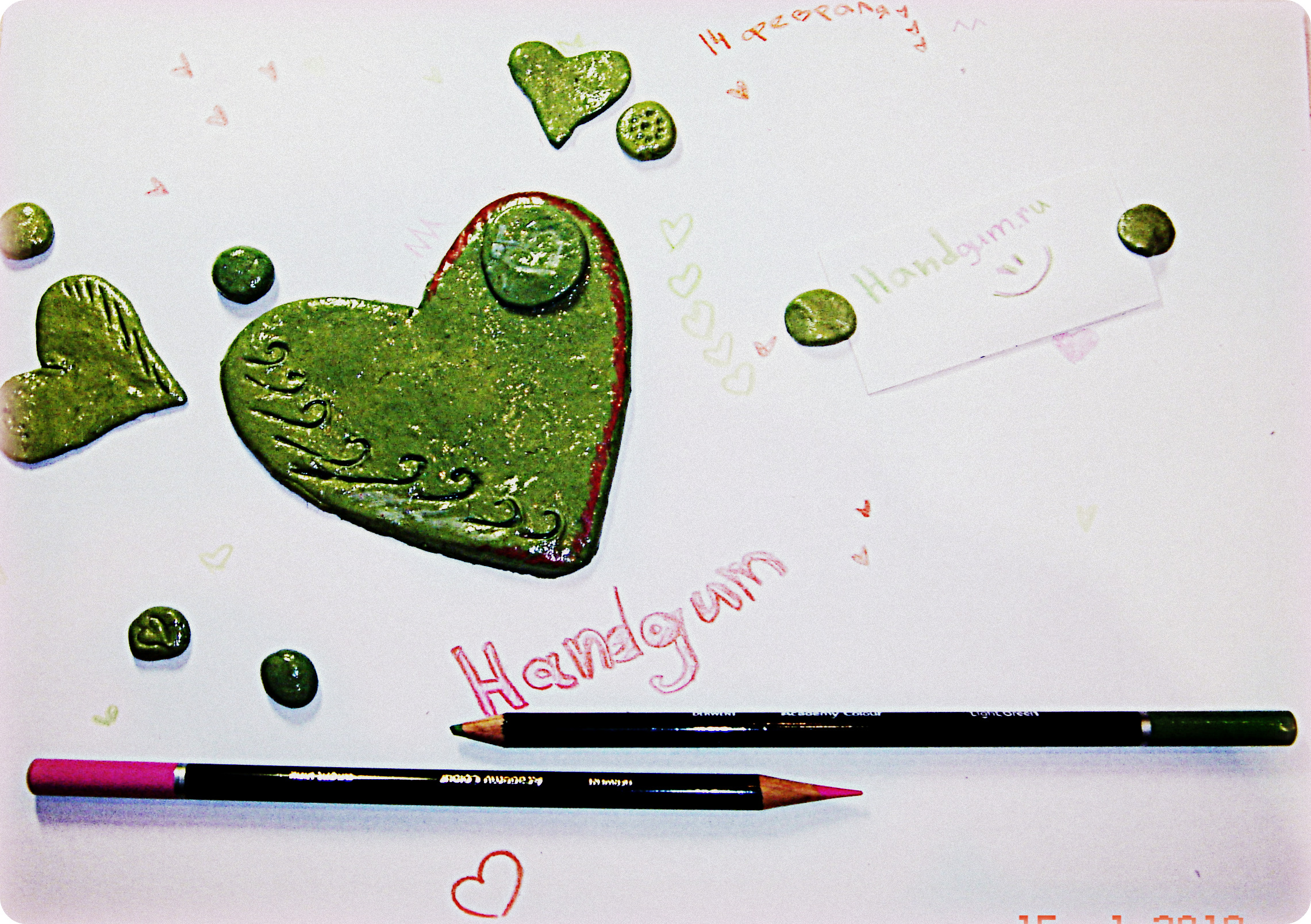 креативная валентинка